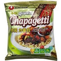 """Лапша быстрого приготовления с черным соевым соусом """"Чачжан"""" Chapaghetti Nong Shim 140 г"""