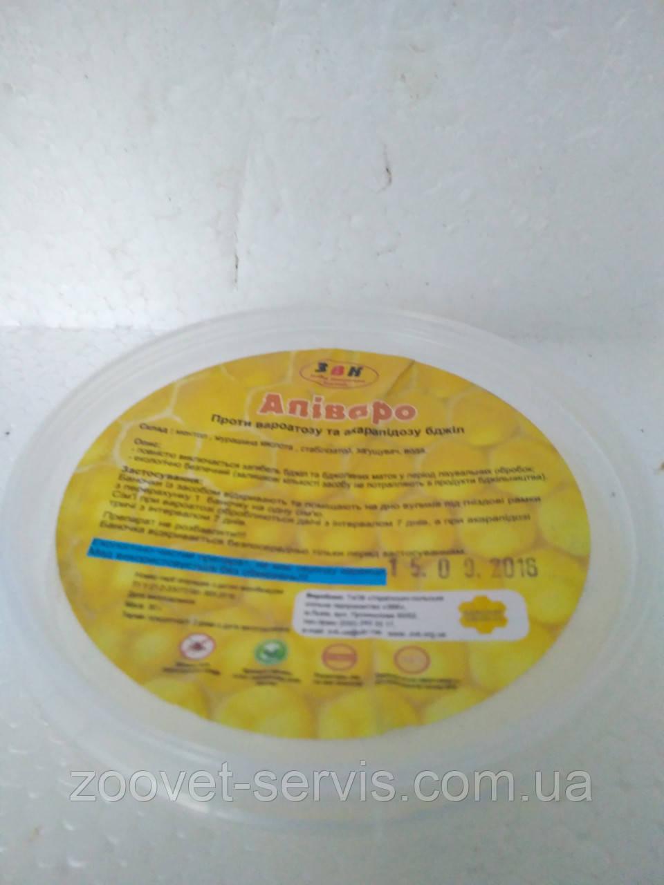 Препарат против варроатоза и акарапидоза пчел АПИВАРО 30г