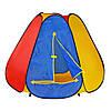 Палатка Пирамида, 144-244-104 См, 6 Граней, Вход С Занавеской, Окно-Сетка, В Сумке Ps, фото 2