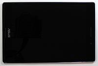 Оригинальный дисплей (модуль) + тачскрин (сенсор) с серебристой рамкой Asus ZenPad S Z580 Z580C Z580CA черный, фото 1