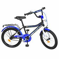 Велосипед детский PROF1 20д. Y20101  Top Grade, черный(мат),звонок,подножка