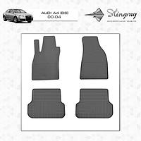 Резиновые коврики Stingray для AUDI A4 (B6) 00-/AUDI A4 (B7) 04 -