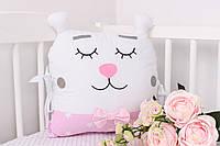 Подушка игрушка в детскую кроватку