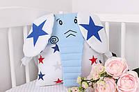 Игрушка бортик синий слон