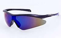 Очки спортивные солнцезащитные OAKLEY YL146 (синий)