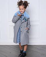 Дизайнерская модель пальто. Элитная коллекция детской одежды весна 2018
