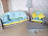 Кукольный домик с текстилем и мебелью