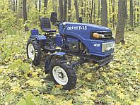Мототрактор Garden Scout T15 (15 л.с фреза+плуг)