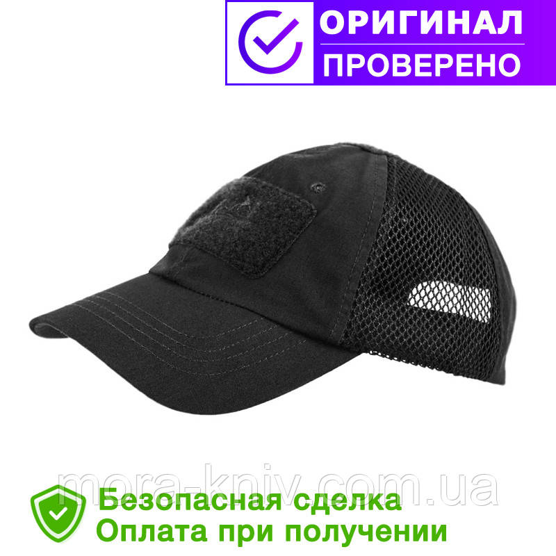 Бейсболка Helikon Vent Black (CZ-BBV-PR-01)