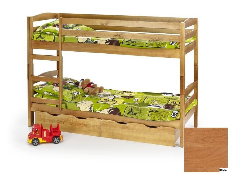 Кровать SAM 80x190 ольха Halmar