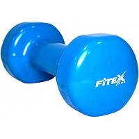 Fitex Гантель виниловая Fitex MD2015-3V (3 кг)