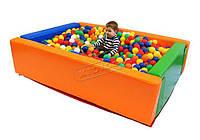 """Дитячий сухий басейн KIDIGO """"Прямокутник"""" 1.5х1,2мм"""