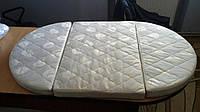 Матрас - трансформер на овальную кроватку Ingvart Smart Bed 60/72-120 кокос-латекс