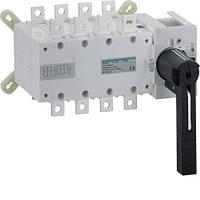 Перемикач корпусний трьохпозиційний Hager HI456 I-0-II до 240мм2, 4п 400А