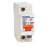 Автоматический выключатель Hyundai HIBD125 100A, 1P, C 10КА