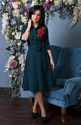 Элегантное женское платье