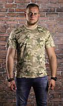 Мужская хлопковая армейская футболка Helikon-Tex - Classic Army T-Shirt - PL Desert (TS-TSH-CO-06) S, M, L, XL, фото 2