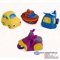 Игрушки для купания Авто 4 шт. Canpol 5903407029962
