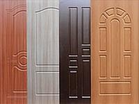 МДФ накладка на двери с ПВХ покрытием наружная