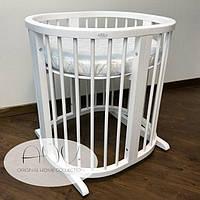 Овальная кроватка для детейANV+ 7 в 1