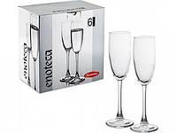 Набор бокалов для шампанского Enoteca 170 мл, 6 шт.
