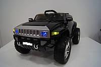 Детский джип Hummer 5513, два мотора, 4 амортизатора, дитячий електромобіль, чёрный