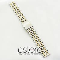 Нержавеющий браслет для часов Casio сталь 18мм, 20мм (07080)