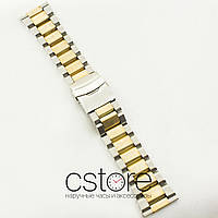 Нержавеющий браслет для часов универсальный сталь 26мм (07082)