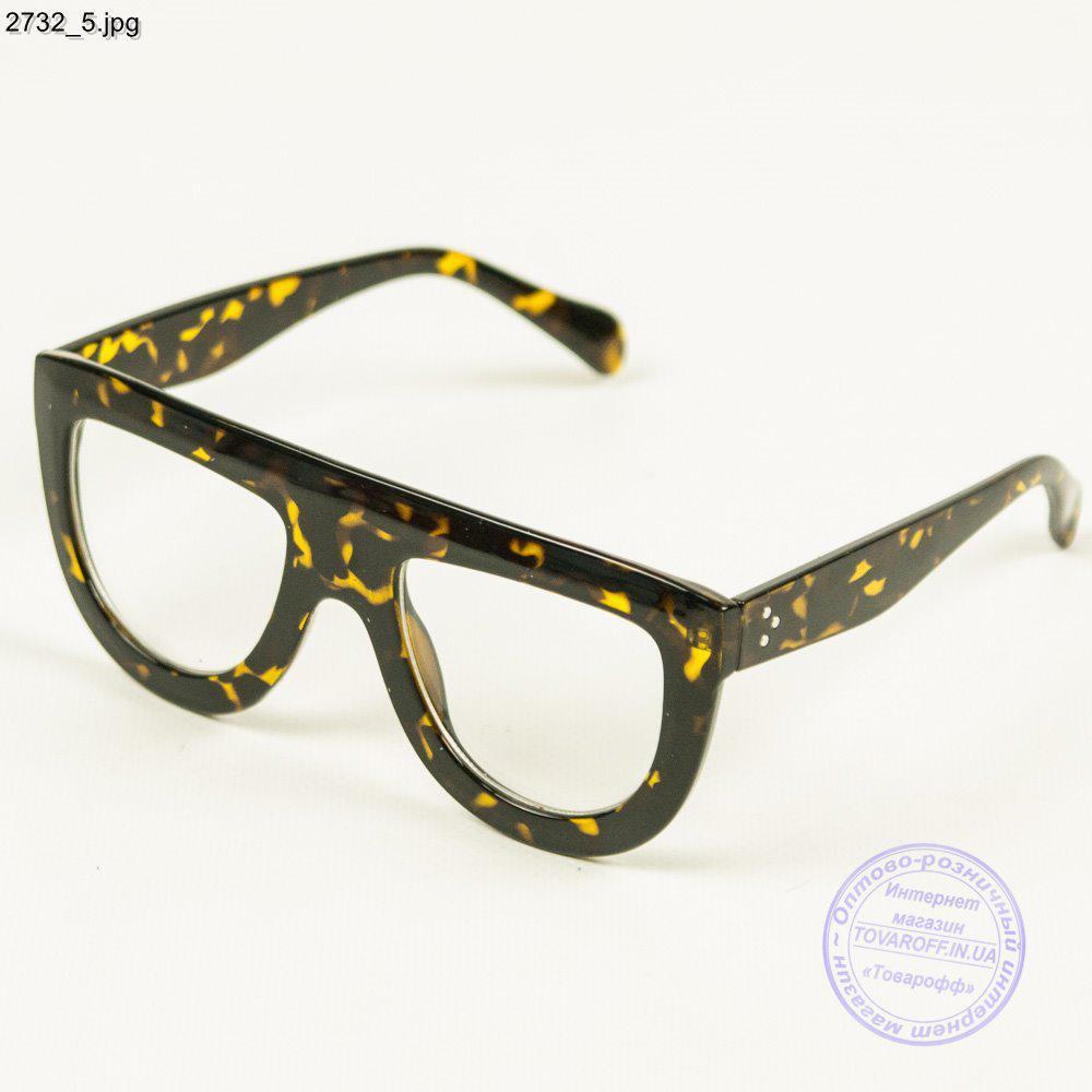 Стильные имиджевые женские очки - 2732/1