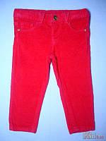 Штаны вельветовые для девочки малиновые (86 см)  Cichlid 2100000319817