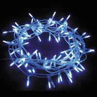 Светодиодная гирлянда 100 диодов синий
