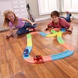Детский автотрек Magic Tracks Mega Set 220 деталей + 2 машинки -  подарок для мальчика, фото 8