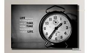 """Картина на холсте  """"Часы будильник"""" (HAS-046)"""