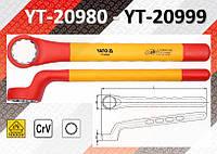 Ключ накидной изолированный 1000В 6-32 мм, YATO, фото 1