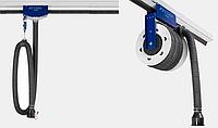 Рельсовая система вытяжки выхлопных газов длиной 8 метров., фото 1