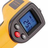 Лазерный цифровой бесконтактный термометр пирометр GM320, фото 2