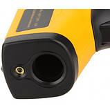 Лазерный цифровой бесконтактный термометр пирометр GM320, фото 7