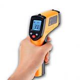 Лазерный цифровой бесконтактный термометр пирометр GM320, фото 3