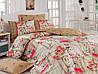 Комплект постельного белья евро размер из ранфорс  cotton box ROMANTIC HARDAL