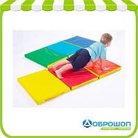 Мат складной детский 150-50-5 см с 3-х частей Тia-sport