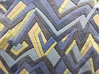Плед из бамбукового волокна Wellsoft Абстракция синяя