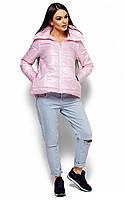 Молодіжна коротка рожева куртка Brendy (S, M, L)