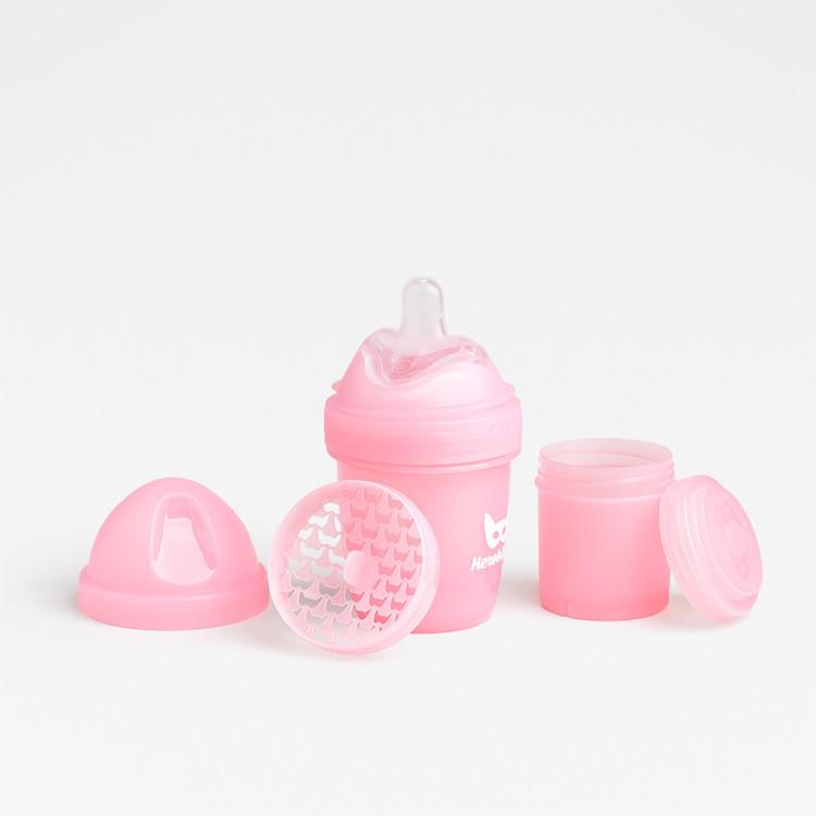 Herobility - Бутылочка Herobottle 140 ml, цвет розовый