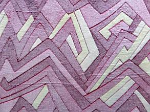 Плед з бамбукового волокна Wellsoft Абстракція рожева