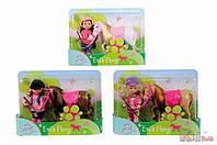 Кукольный набор Эви и пони, 3 вида, 3 + Simba 4006592574642