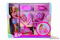 Кукольный набор Штеффи с младенцем, аксес., 3+ Steffi & Evi Love 4006592508616