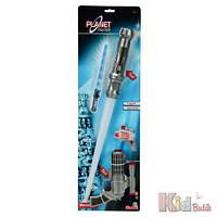 """Лазерный меч """"Космический солдат"""" с бластером, звук. и свет. эффектом, 3 + Simba 4006592807375"""