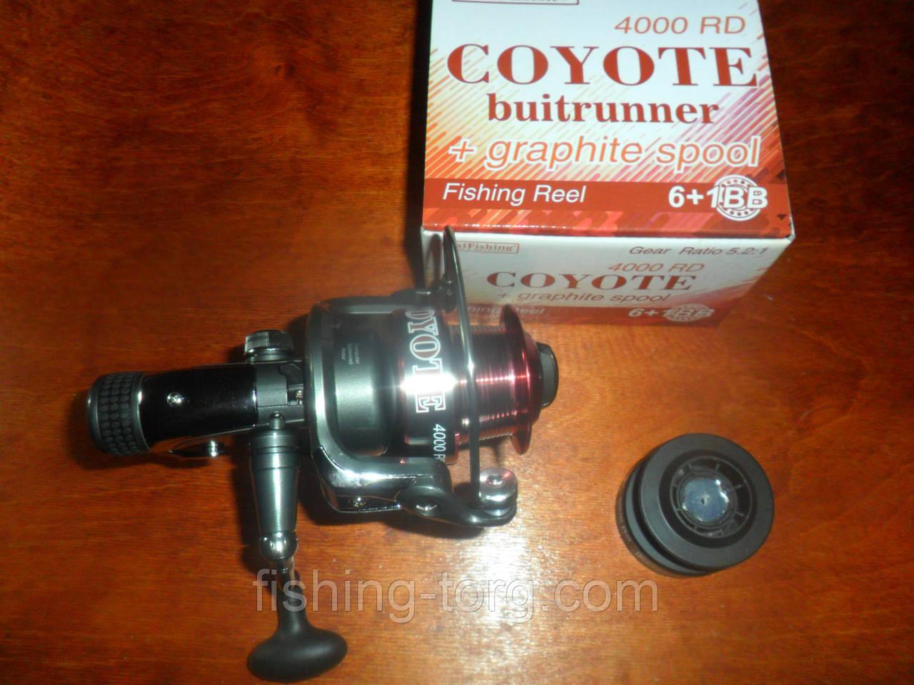 Катушка рыболовная coyote 4000rd 6+1bb