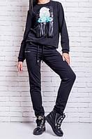 Спортивные женские брюки. Удобные и классические. Хорошее качество. Доступная цена. Дешево. Код: КГ3695