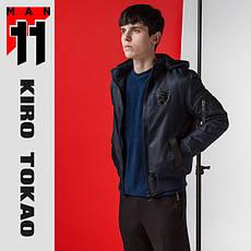 11 Kiro Tokao | Бомбер японский мужской осенне-весенний 9991-1 т-синий